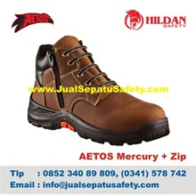 Katalog Sepatu Safety Merk Aetos Mercury Zip