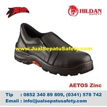 Sepatu Safety Merk Aetos Zinc Original