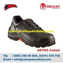 Katalog Sepatu Safety Aetos Cobalt Asli