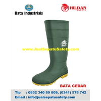 Sepatu Safety Shoes Bata Cedar Original
