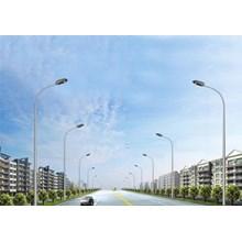 Tiang Lampu Jalan Perumahan PJU Oktagonal Single Parabolic 13 meter