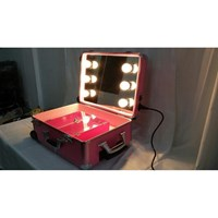 Grosir Beauty Case Trolley Lampu BCLT FSH Pink Murah