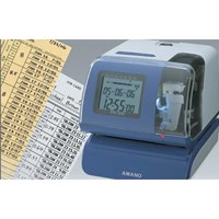 Distributor Mesin Absensi Time Stamp  AMANO PIX-200