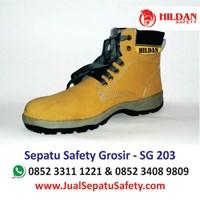 Sepatu Safety Lokal Grosir SG 203 Terbaik
