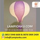 Lampion Balon Udara Kertas Anak 6
