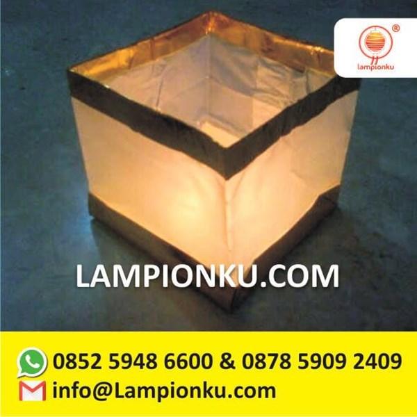 Lampion Apung Kotak Murah Malang