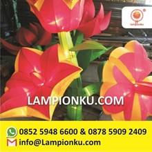 Lampion Kain Karakter Bunga