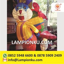 Lampion Kelinci Dan Jamur Maskot Hotel