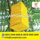 Lampion Bentuk Kotak Zig Zag 1