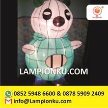 Lampion Taman Karakter Pokemon