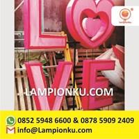 Harga Lampion Taman LOVE