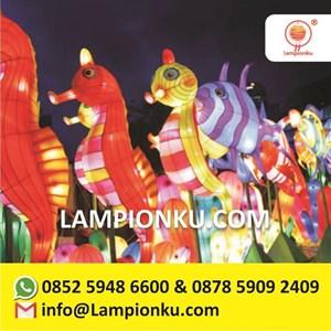 Lampion Karakter Kartun Ikan