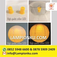 Lampu Lampion Led Mini Warna Kuning
