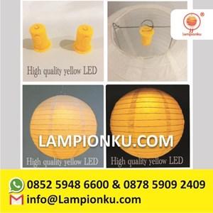 Lampu Lampion Led Mini Warna Kuning