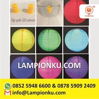 Lampu Lampion Led Multicolour