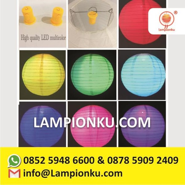 Lampu Lampion Led Multicolour