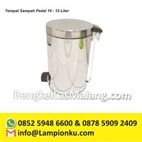 Tempat Sampah Pedal 10 - 12 Liter 1
