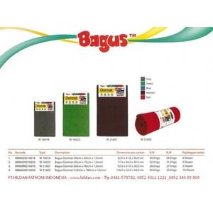 Keset Kamar Tidur Lucu Merk BAGUS DORMAT W-21603  (50cm x 80cm) Kombinasi Warna