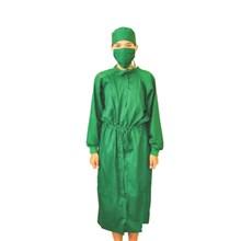 Baju Tindakan Operasi Jubah Dokter Lengan Panjang