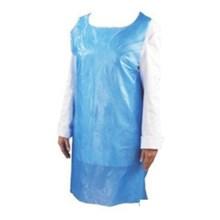 Apron Celemek Medis Plastik Biru Transparan Murah