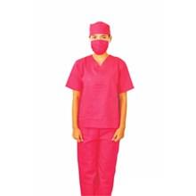 Baju OK Operasi Perawat Lengan Pendek