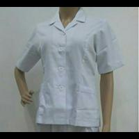 Seragam Perawat Wanita Rumah Sakit Warna Biru  1