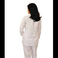 Jual Grosir Seragam Perawat Wanita Lengan Panjang Biru 2