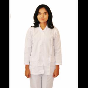 Grosir Seragam Perawat Wanita Lengan Panjang Biru
