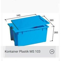 Kotak Box Plastik Container Type  MS 103 untuk Sayuran 1