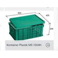 Distributor Box Kontainer Plastik MS 1004H Sayur Surabaya  1