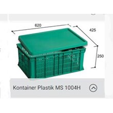 Distributor Box Plastic Container Vegetable 1004H MS Surabaya