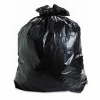 Kantong Sampah Plastik Hitam PE Elastis 1