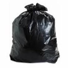 Kantong Sampah Plastik Hitam PE Elastis
