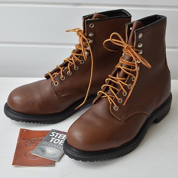 Sepatu Safety RED WING Men Boot Tipe 2233