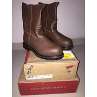 Sepatu Safety REDWING Type 8264 Pull On Boot Brown
