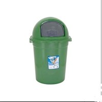 Jual BIO EARTH Tempat Sampah 80 Liter Tutup Bulat  2