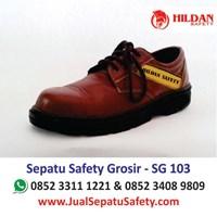 Sepatu Safety Grosir SG 103 Pendek Bertali