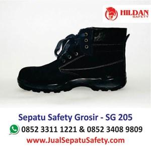 Sepatu Safety Lokal SG 205 Murah Surabaya