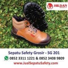 Sepatu Safety SG 201 MURAH di SURABAYA