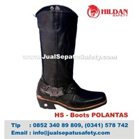 HS - Boots POLANTAS Supllier Sepatu Boots HARLEY DAVIDSON Polisi 1