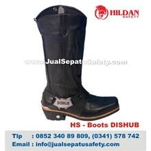 HS – Boots DISHUB Sepatu Tunggang Dinas Perhubungan
