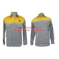 Baju Seragam Safety Lengan Panjang Murah 1