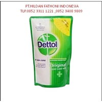 Grosir Refill Sabun Cuci Tangan DETTOL ORIGINAL 200 ml Sachet Murah 1