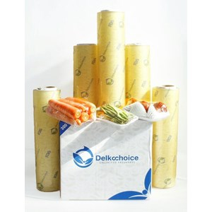 Plastik Wrapping Makanan Merk Delkochoice Murah Jakarta