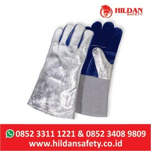 Sarung Tangan LAS Kulit Welding Safety Gloves