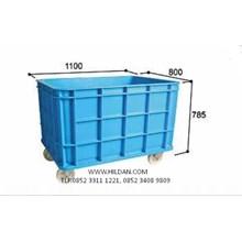 Box Pallet Plastik Type MS 6400SW Murah di Pasuruan