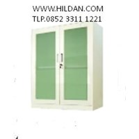 Short Glass Door Swing Beige Type 10104930
