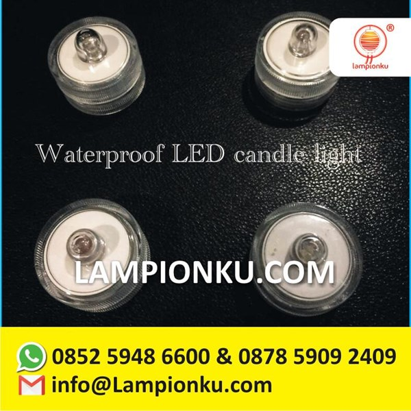 Lampu Lilin LED Anti Air Murah