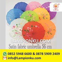 China Imported Satin Cloth Umbrella
