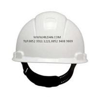 Jual Helm Safety 3M PUTIH PMLOCK HARD HAT H-701P 2